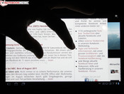 Multi-touch gestures (e. g. zoom)