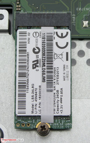Lenovo equipped the S500 with an SSD cache.