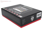 The Prestigio Multipad PMP5080B comes in a stylish packaging.