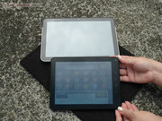 All tablets are difficult to read outdoors.