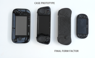 The SMACH Z and Z Pro are slightly smaller than a Wii U Gamepad. (Source: SMACH)