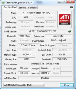 GPU-Z Info