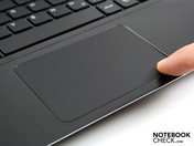 Click touchpad, alike Apple's, but with two buttons