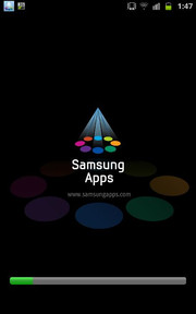 Samsung has its own app store.