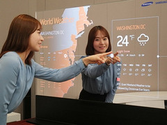 Samsung touts transparent and mirror OLED displays