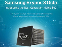 Samsung releases infographic for upcoming Exynos 8 Octa 8890 SoC
