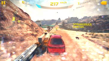 Asphalt 8 stutters at the highest settings.
