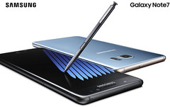 Samsung Galaxy Note7 Android flagship phablet/smartphone with Corning Gorilla Glass 5