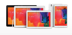 Samsung Galaxy Note Pro and Tab Pro Android KitKat tablets with up to WQXGA resolution