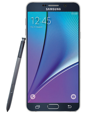 Allegedly an official press picture of the Galaxy Note 5 (Picture: @evleaks)