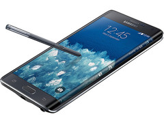 Samsung Galaxy Note Edge smartphone with QHD display and 16 MP main camera