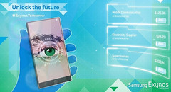 Samsung Galaxy Note 4 retinal scanner #ExynosTomorrow