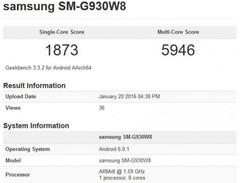 Samsung Galaxy S7 specs revealed on Geekbench
