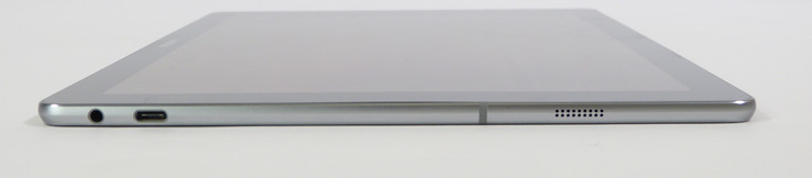 TabPro S right side view with USB-C and headset port