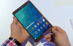 Samsung Galaxy Tab S 8.4 Android tablet, predecessor of the upcoming Galaxy Tab S2
