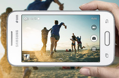 Samsung Galaxy V Plus smartphone with Android KitKat, 3G connectivity and dual-core processor