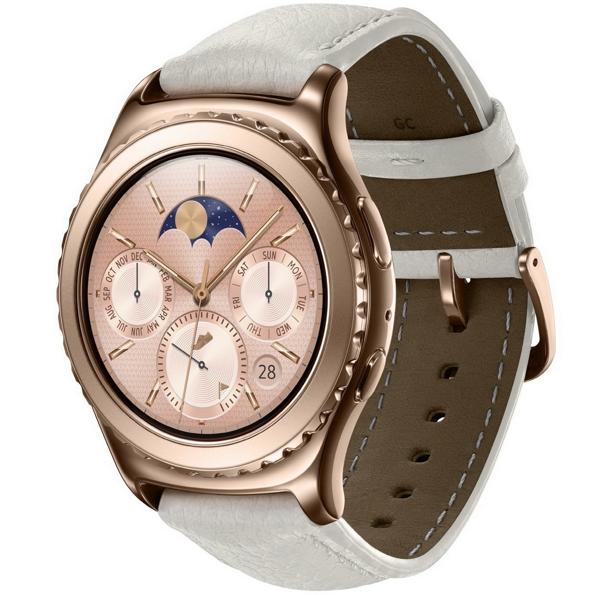 Samsung Gear S2 Classic Coming In Platinum And Rose Gold Colors