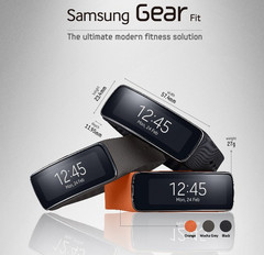 Samsung Gear Fit got The Best Mobile Device award at MWC 2014