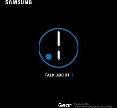 Samsung Gear S3 launch event taking place on August 31st