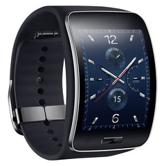 Samsung Gear S smartwatch with 2-inch curved AMOLED display and Tizen OS