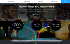 Samsung Milk Music free online radio for Galaxy users