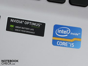 and Nvidia Optimus (Geforce GT 520M), the user is well-equipped for the future.