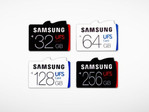 Samsung unveils UFS microSD memory cards with capacities up to 256 GB
