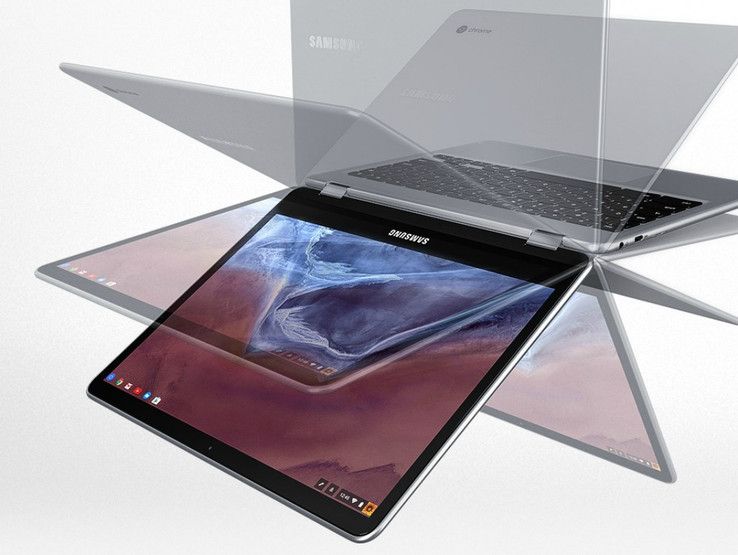 Samsung's Chromebook Pro could be a convertible device. (Source: Chrome Unboxed)