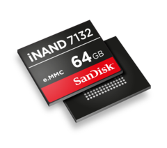 SanDisk's new iNAND 7132 hopes to compete with Samsung's recently introduced UFS 2.0