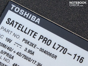 The reason: As in our Satellite Pro, dull plastic dominates its looks.