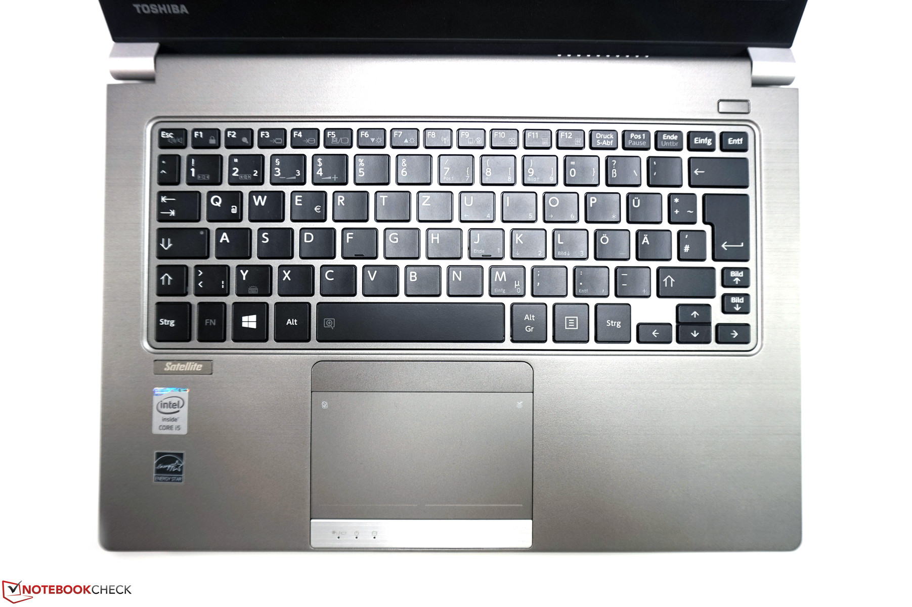 Toshiba Satellite Z30 B Notebook Review Reviews Keyboard Mini Multimedia K 1000 And Clickpad