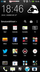 HTC Sense 5 UI: Menu