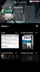 HTC Sense 5 UI: Add widgets and homescreens