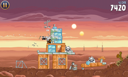 Casual games such as Angry Birds: Star Wars work well.