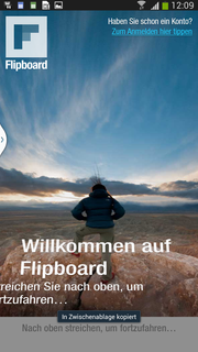 One example: Flipboard.