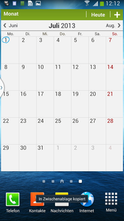 S Planner is a clear and easy to use calendar application.