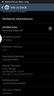 Google Android 4.3 comes preinstalled ...