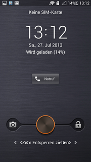 "The so-called ""Emotion UI"" interface for Android already has a uniquely designed lock screen."