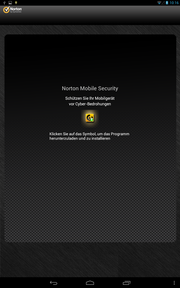 """Norton Mobile Security"" cannot be uninstalled."