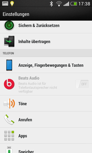 Beats Audio is integrated, as well as...