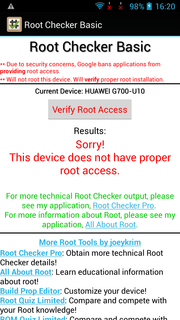 Root access is not available.