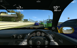 ..but the more demanding Real Racing 3 stutters slightly