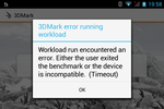 3DMark Unlimited is not compatible with the Z3.