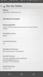 Android version 4.3 is a must. The release date for the KitKat update...