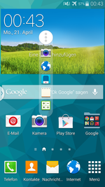 Very good: the TouchWiz interface.