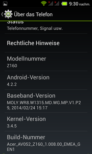 Android 4.2.2 is installed.