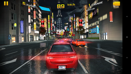 Asphalt 8 runs fluidly at medium settings.