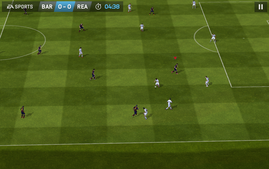 FIFA 14 runs smoothly.