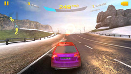 Asphalt 8 can only be displayed in medium detail settings.