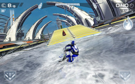 Riptide GP2 is a graphically intricate race game but runs quite smoothly.